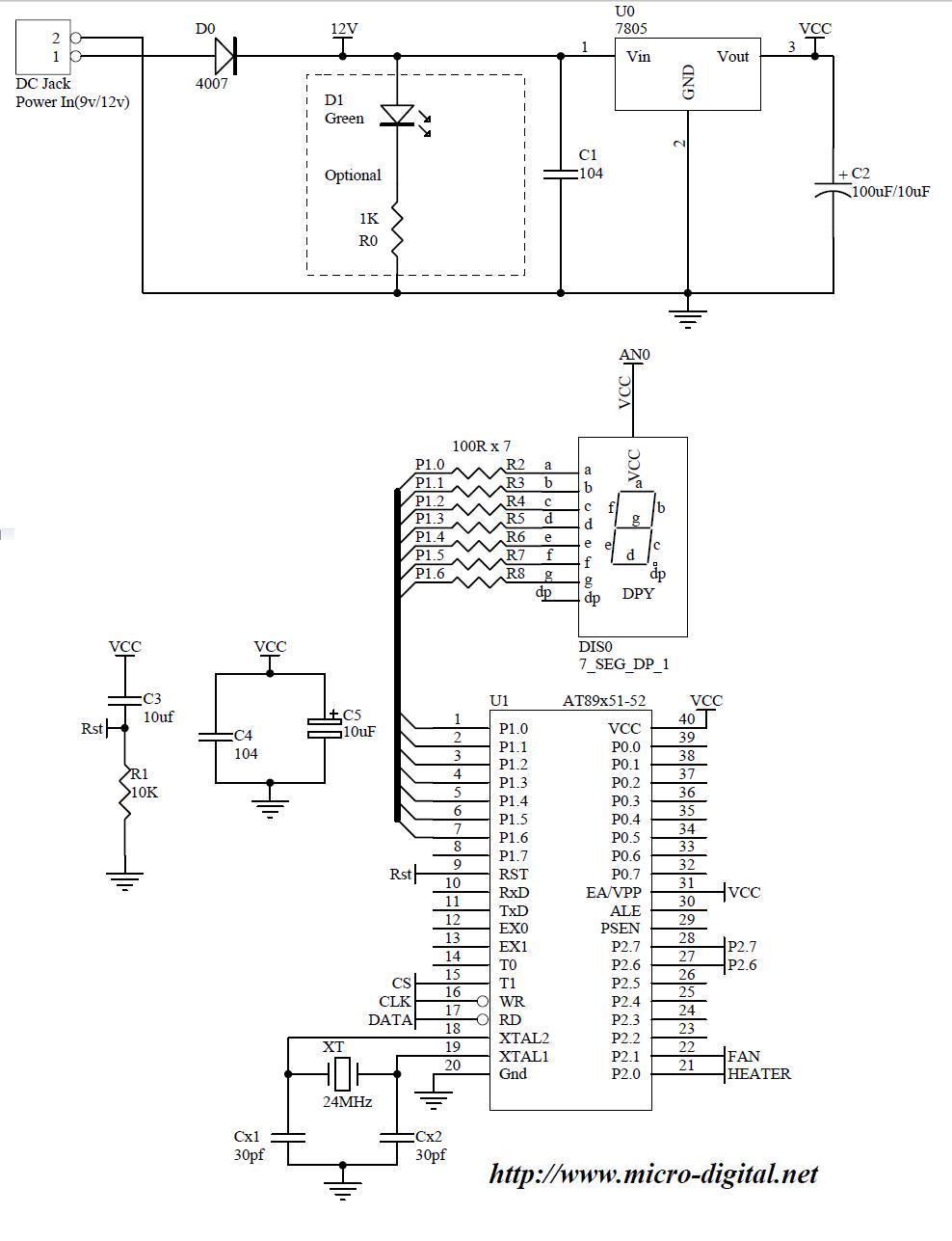 ic 8873 circuit diagram