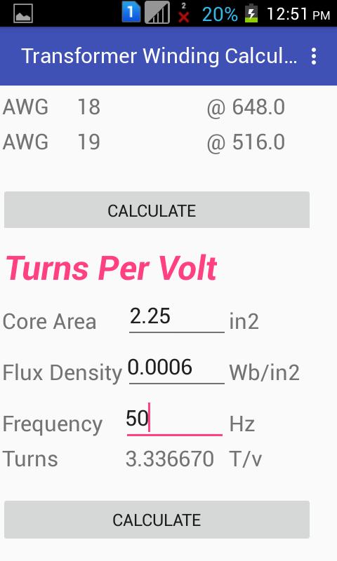 Transformer Winding Calculator | Micro Digital